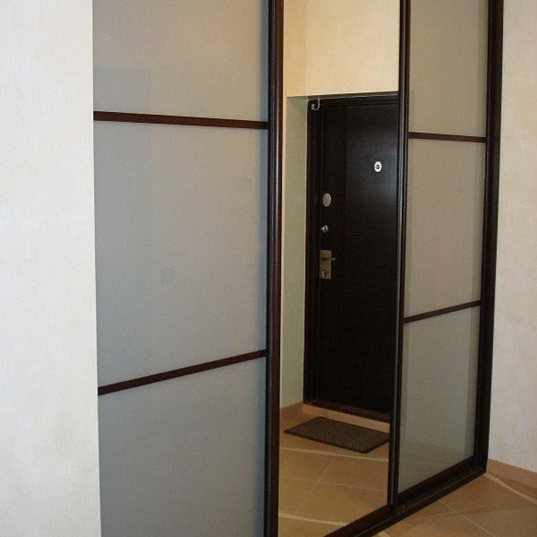 Шкаф купе в прихожую. прихожие фото. мебель в коридор на зак.
